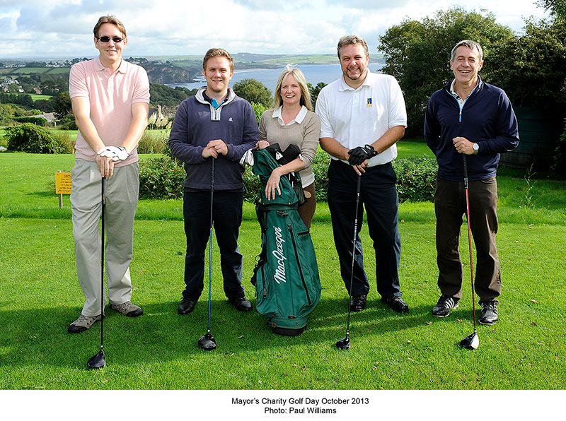 mayors golf day
